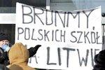 Litewscy Polacy w obronie języka