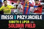 Lewandowski zagra przeciwko Messiemu na Soldier Field