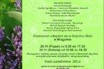 """Seminarium """"Hortiterapia jako profilaktyka i wspomaganie procesu terapii w programach społecznych"""""""