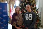 Polski mistrz świata w boksie Krzysztof 'Diablo' Włodarczyk z wizytą w Konsulacie w Chicago