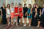 Tenisowe gwiazdy na nowojorskim przyjęciu dla zawodników: 2015 US Open Goes Polish