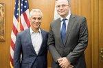 Konsul Generalny Piotr Janicki spotkał się z Burmistrzem Chicago Rahmem Emanuelem