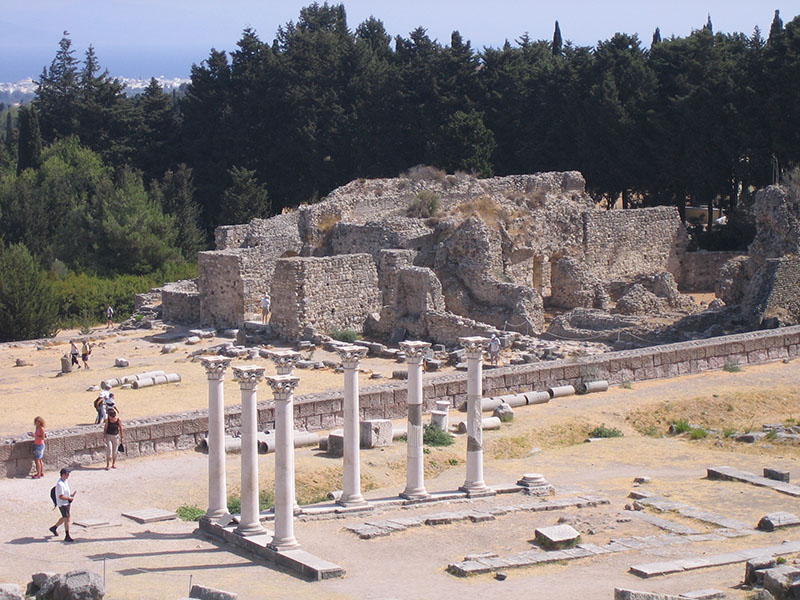 Asklepiejon, wyspa Kos, Grecja