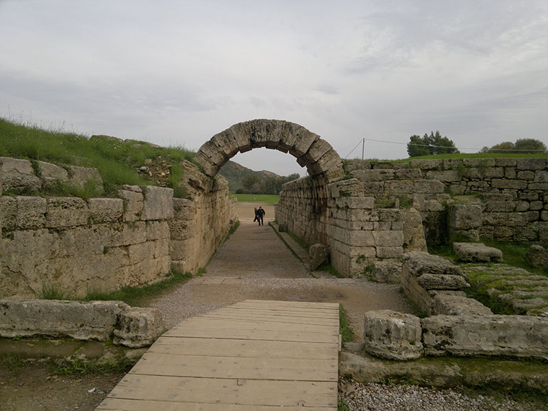 Stanowiska archeologiczne w Olimpii, Grecja
