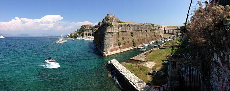 Fortyfikacje Korfu, Grecja