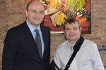Konsul Generalny Piotr Janicki spotkał się z Kongresmanem Mike'iem Quigleyem