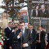 Przemówienie Ambasadora RP w USA profesora Piotra Wilczka na polonijnych uroczystościach pod pomnikiem katyńskim na cmentarzu św. Wojciecha w Niles, upamiętniających 7. rocznicę katastrofy smoleńskiej