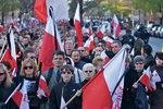 Marsz żałobny chicagowskiej polonii
