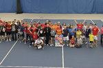 WOŚP na korcie tenisowym