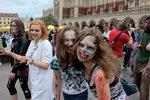 Zombie walk w Krakowie