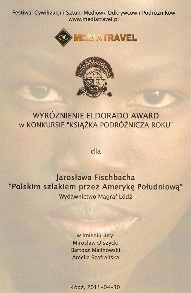 Dyplom dla J. Fischbacha